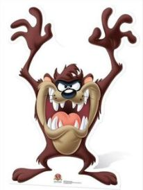 Tasmanian devil cartoon character