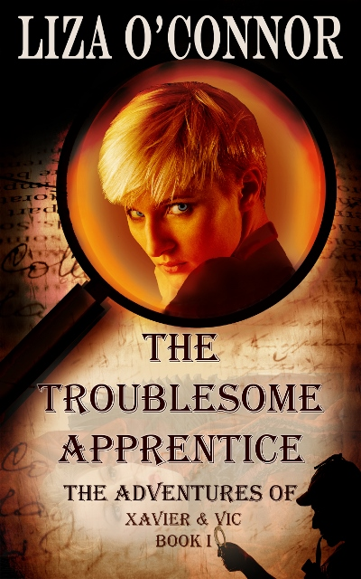 Talent Spotter book cover Liza Oconnor The troublesome apprentice.
