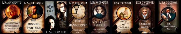 Talent Spotter Liza O'connor all books.jpg