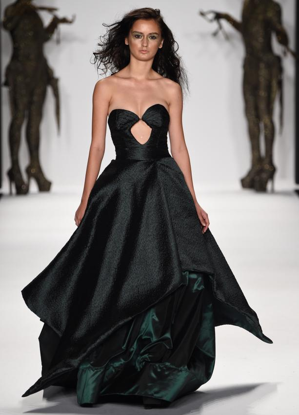Sheila ballgown by Michael costello