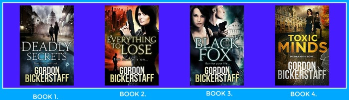 GORDON BICKERSTAFF BOOK 1 THRU 4