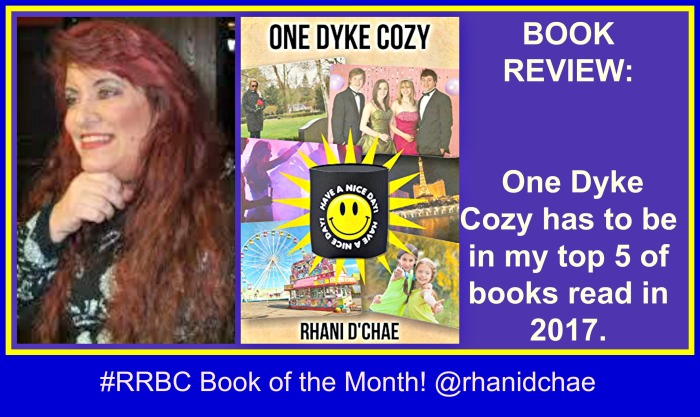 BOOK REVIEW PROMO ONE DYKE COZY RHANI D'CHAE