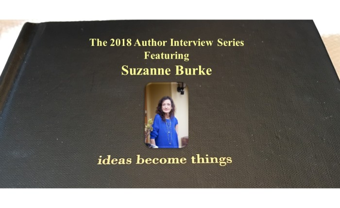 The 2018 Author Interview Series Featuring Suzanne Burke