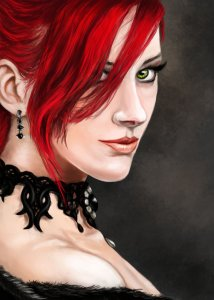 RED HEAD FOR ART SHORT STORY